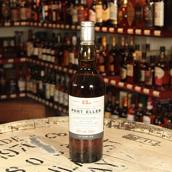 Port Ellen, Diageo 2013 Annual Release, 34 y.o.