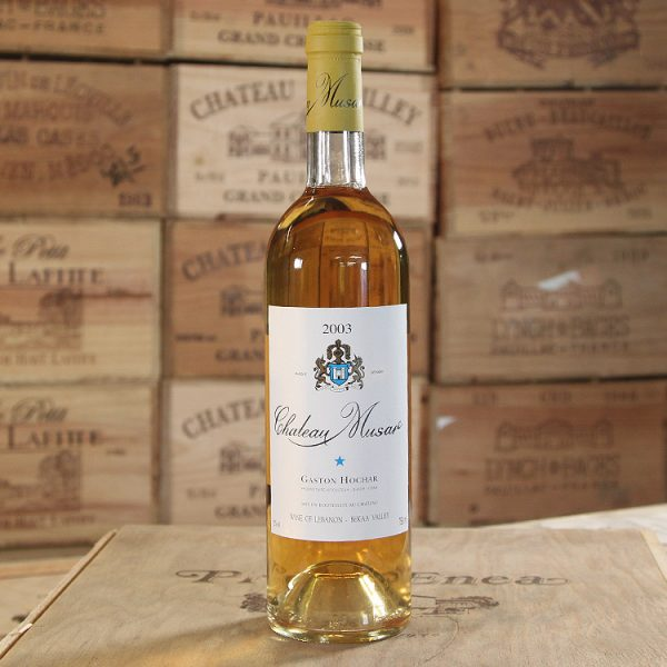 Chateau Musar, White, Library Vintage, 2003