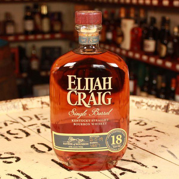 Elijah Craig 18 y.o